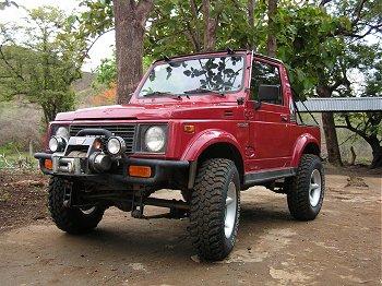 Suzuki Samurai Costa Rica