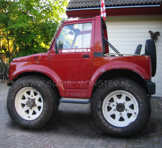 suzuki samurai 4x4. wrote: Here is my 4x4,